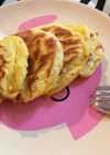 低糖質 離乳食 大豆粉メープルパンケーキ