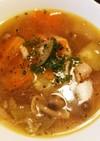 夏野菜と鶏もものスープ