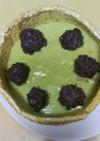 シャルロットケーキver抹茶&小豆ムース