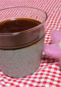 きな粉とゴマで豆腐ババロア