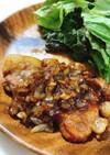 厚切り豚ロース肉でポークジンジャー