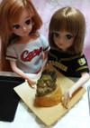 リカちゃんサイズ♡野球シリꕤ牡蠣バゲット