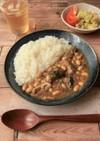 電子レンジ★サバと大豆のカレー