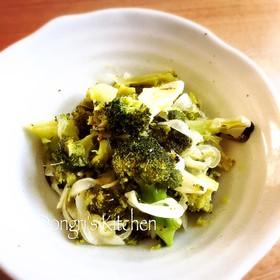 焼きブロッコリーと玉ねぎの簡単マリネ