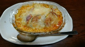 ズッキーニのチーズ焼き(ピザ風)