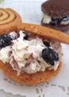 プチリッチ☆クリームチーズサンドクッキー