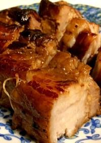 【圧力鍋】豚バラかたまりでチャーシュー