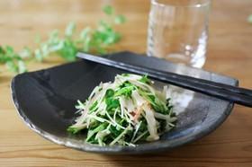 長芋とシャキシャキ野菜のさっぱりサラダ