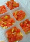 離乳食 トマト卵スープ