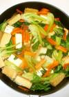 厚揚げチンゲン菜の中華炒め♪簡単