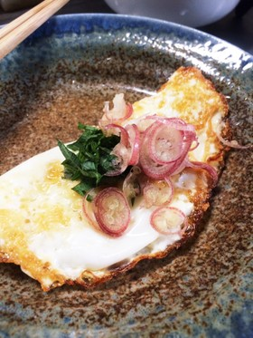 余った卵の白身焼き