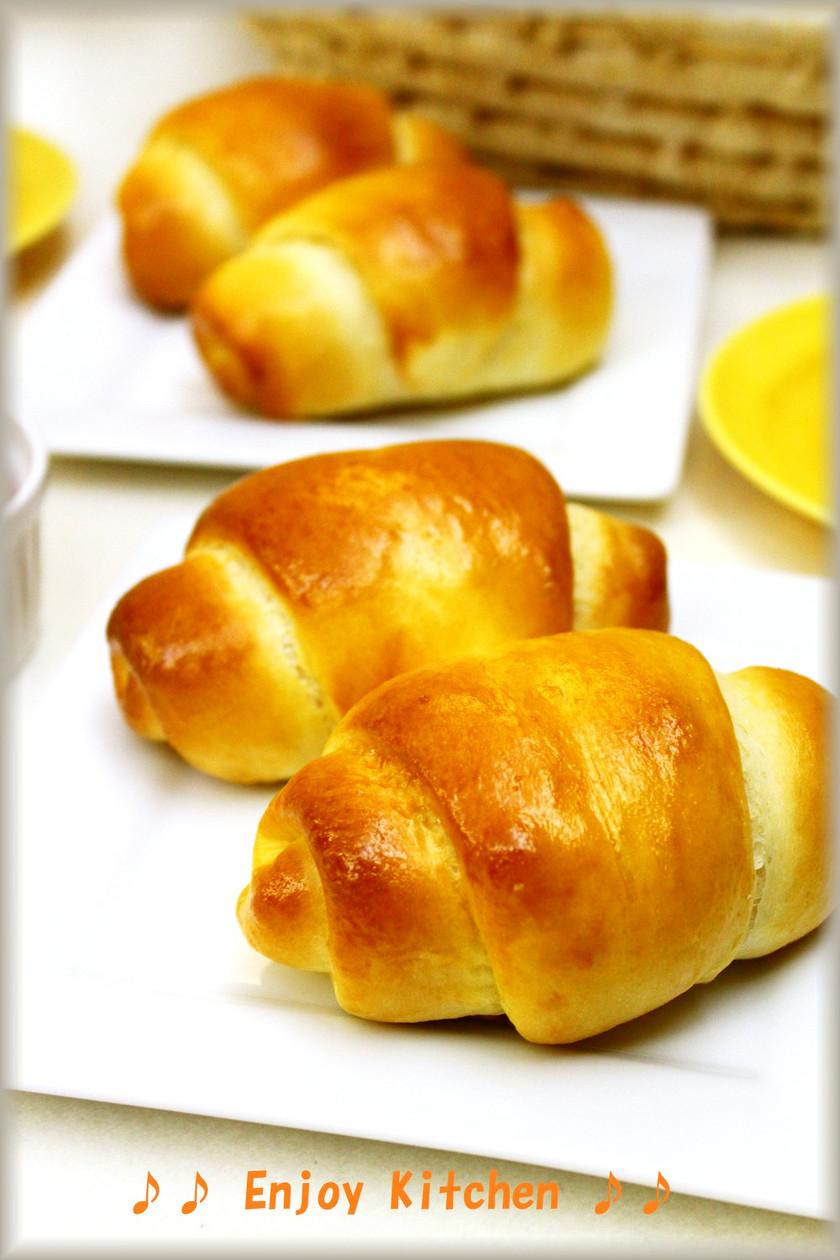 ふんわり♪基本のバターロールパン