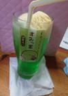 メロンクリームソーダ