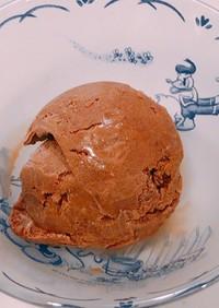 生クリーム入り、濃厚チョコアイスクリーム
