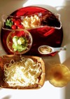 胡麻酢味 流水麺