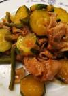 簡単美味・豚肉と夏野菜の旨塩炒め