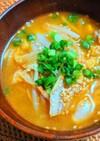 豚モヤシと白菜スープ