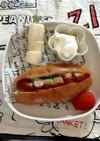 2歳〜野菜入りホットドッグ☆朝食、おやつ