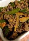 万願寺と肉味噌炒め