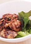 鶏胸肉とキノコの味噌漬け焼き