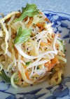 あと1品に♪もやしとハムの簡単中華サラダ