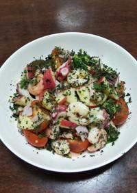とまとの海鮮サラダ