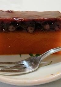 かぼちゃと小豆の羊羹