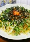 卵ポトリ☆納豆おろしの和風パスタ