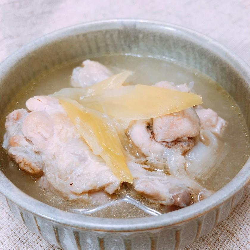 手羽元と塩麹で簡単サムゲタン