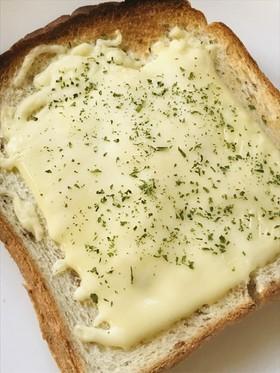 ハム&チーズのプレーントーストサンド