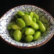 ポリ袋で1分 枝豆の浅漬け〜白だしわさびの写真