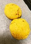 幼児食にも♡カボチャと豆腐のパン