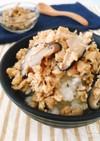 高野豆腐ときのこの簡単しっとりそぼろ