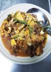 牛肉とゴーヤの味噌炒め