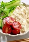 簡単♩豆腐のサラダうどん