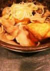 豚バラ揚げ出し豆腐