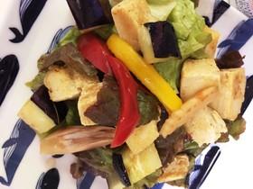 糖質オフ!サックサク高野豆腐のサラダ