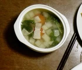 中華風のスープ