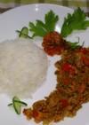 納豆キーマカレー