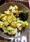 ブロッコリー、カリフラワーにんにく味噌
