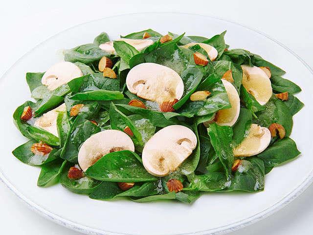 マッシュルーム サラダ