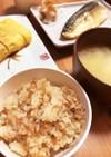 材料3つ!ツナとなめ茸の炊き込みご飯