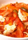 たっぷり野菜のデトックススープパスタ