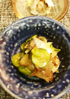 鯵刺とキクラゲの簡単酢の物