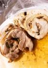 さっぱり美味い♪鶏肉と大葉の梅味噌ロール