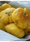 HBで作る『かぼちゃパン』