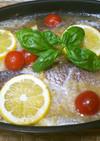 鯛の玉ねぎソース煮込み