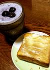 クリチ&くりジャム重ね塗りトースト