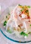 中華風  ピリ辛♪冷しゃぶサラダ