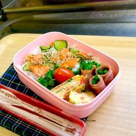 毎日お弁当♪サッパリ酢飯で食欲増進